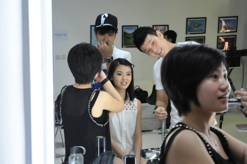 Kimberly Chia looking fresh even before make up!